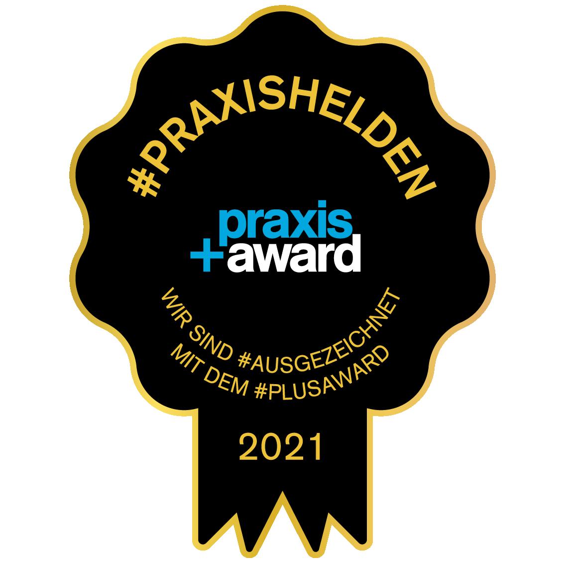 Praxis Award 2021 Qualitätssiegel